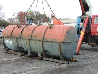 Loading J-57 Engine